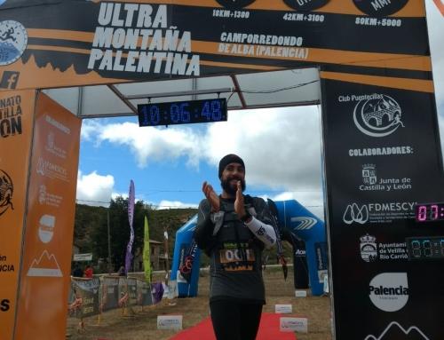 Juanjo García gana de nuevo la Ultra montaña palentina