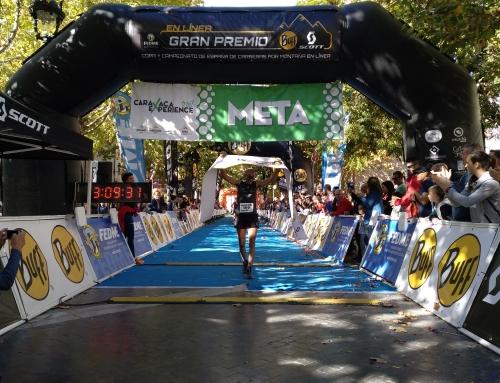 Santiago Mezquita, campeón de la Copa de España de carreras por montaña en línea
