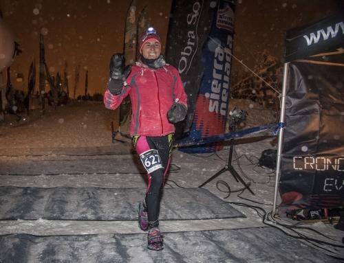 Nuria Domínguez defiende en Sierra Nevada su título nacional de SnowRunning