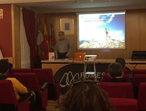 Pau Pérez presenta en Valladolid la Guía de Buenas Prácticas para el Desarrollo de Carreras por Montaña en Espacios Naturales