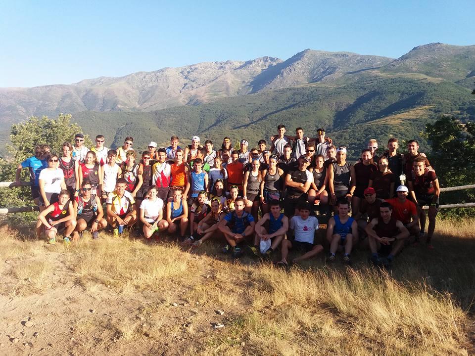 Ocho corredores del CTD de Castilla y León acuden al Encuentro Intercentros de Riglos
