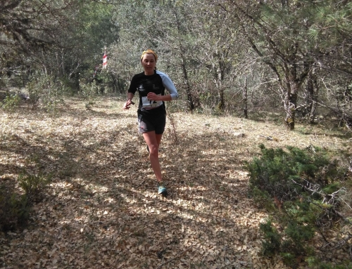 Alma de las Heras: «Me sorprendió mucho correr por el Cañón del Río Lobos»