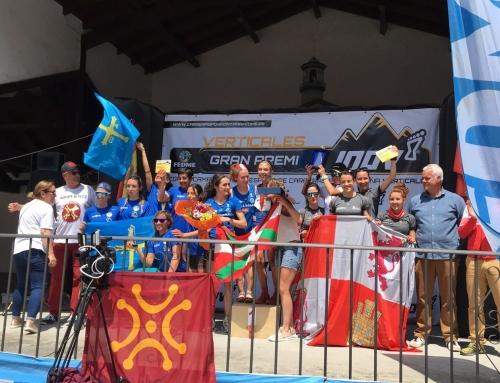 Castilla y León se sube al podio en el Campeonato de España de Kilómetro Vertical
