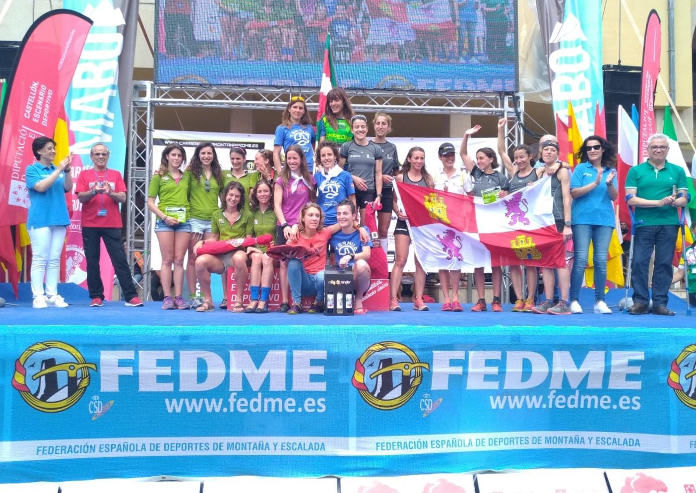 Castilla y León, botín de bronce en el Campeonato de España de Carreras por Montaña