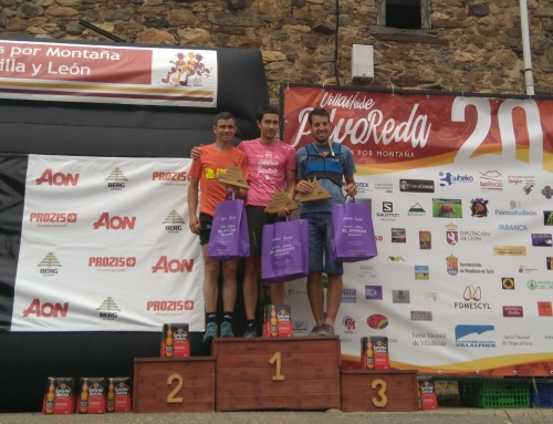 Erlantz Díaz y Gabriela Sánchez reinan en Villalfeide