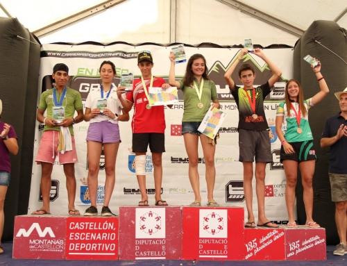 Sara Aparicio, bronce cadete en la Copa de España de Carreras por Montaña