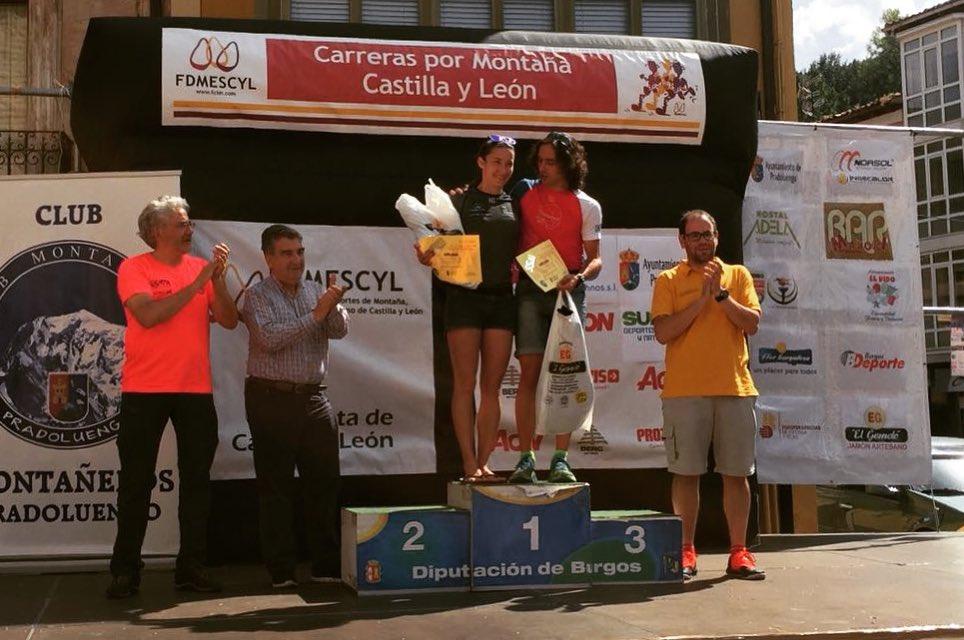 Luis Ángel Tejedor y María Díez, campeones de la XIII Copa de Castilla y León
